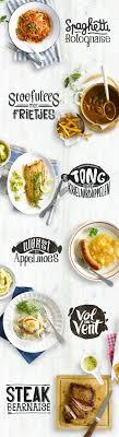 Custom Recipe Typo Food Menu DesignFood Graphic Poster DesignGraphic Design InspirationCafe
