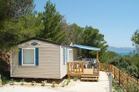 Mobile home holidays in camping South of france