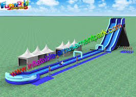 Exciting Big Water Pool Inflatable Slide With Swimming Bounce House Jumpers