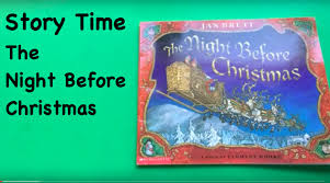 Twas The Night Before Halloween Book by Story Time The Night Before Christmas Youtube