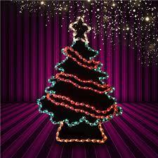 48 Lighted Christmas Tree Garland