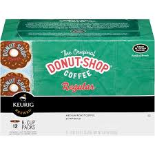 The Original Donut Shop Regular Medium Roast Coffee Extra Bold K Cups