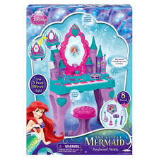 Disney Little Mermaid Bathroom Accessories by Amazon Com Disney Princess Ariel Keyboard And Vanity Toys U0026 Games