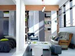 cloison chambre salon separation chambre cloison chambre salon un rideau en guise de