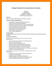 Students Resumeaccounting Student Resumes Curriculum Vitae