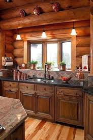 Log Home Interior Decorating Ideas 20 Loghouses You D To Live In Rustic Kitchen Log