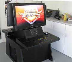 Xtension Arcade Cabinet Plans by Sit Down Xtension Arcade Cabinet Plans Scifihits Com