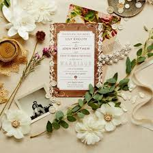 Rustic Is Just One Of The Top Wedding Stationary Trends Snippetandink Spotted In Our Invitations