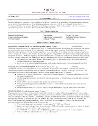 Competencies List For Resume by Competencies Resume Resume Badak