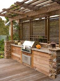 Garden Kitchen Ideas 45 Outdoor Kitchen Design Ideas On Backyard