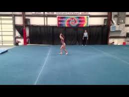 emily 2013 usag level 4 old level 5 floor routine gymnastics