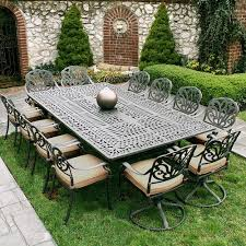 large patio table and chairs out is the new in with big lots outdoor furniture