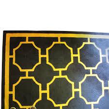 Beauvais Custom Geometric Wool Area Rug 12'10