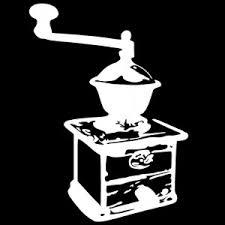 pochoir pour cuisine pochoir moulin à café pour la cuisine clicanddeco