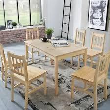essgruppe mit 6 stühlen günstig kaufen ebay