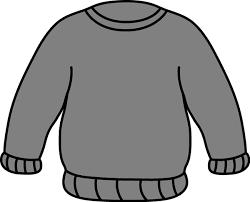 Gray Sweater Clip Art