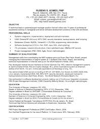 Resume Sample For It Manager Software Development Best Quality Engineering 11