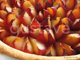 tarte aux prunes la recette gustave