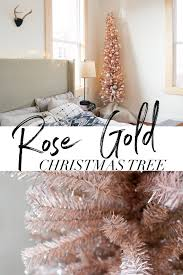Christmas Tree 75 Ft by Rose Gold Christmas Tree