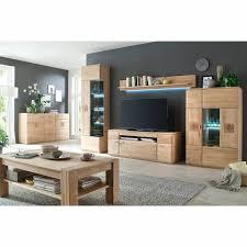 moderne wohn esszimmer standvitrine badalona 05 in eiche bianco massiv front gerundet b h t 60 208 38cm