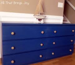 furniture engaging bedroom decoration using 6 drawer blue wood
