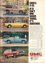 1983 GMC S-15 Pickup Truck And Jimmy Advertisement Motor Trend ... 1983 Gmc Ck 3500 Series Overview Cargurus Caballero Chevrolet El Camino Factory 57 Diesel No Ebay Sierra 1500 Sierra Reg Cab Completely Filegmc Classic Regular Cabjpg Wikimedia Commons S15 Pickup Truck Item H2412 Sold Octobe Car Shipping Rates Services Pickup C1500 Gm Square Body 1973 1987 S285 Indy 2011 Amazoncom High Truck Original Photo Preserved Plow 24 Gruman Step Van Food Youtube