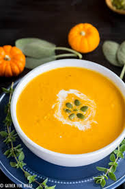 Pumpkin Butternut Squash Soup by Roasted Butternut Squash Soup Gather For Bread