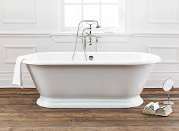 Kohler Villager Bathtub Weight by Regal Cast Iron Bath With Pedestal Base Dublin Hand Polished Cast