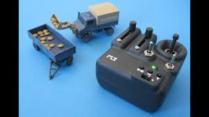 3D-printed Micro RC Truck