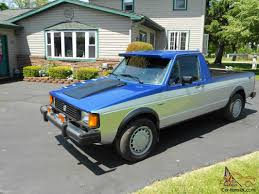 100 Rabbit Truck 1981 Volkswagen Caddy Diesel Turbo Low Miles Excellent