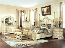 Bedroom Real Wood King Size Bed White High Gloss Bedroom Furniture