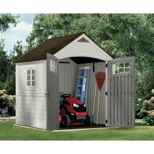 suncast cascade 7 x 4 outdoor storage shed suncast sheds