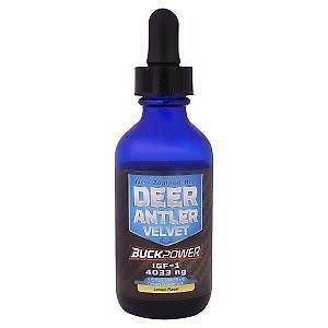 Buckpower Deer Antler Velvet 92 Ng Liquid Supplement - Lemon, 1.5oz