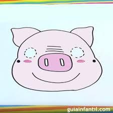 Cómo Dibujar Una Mascara De Cerdo