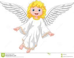 Cute Cartoon Angel Stock Vector Illustration Of Beautiful