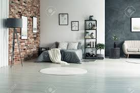 100 Bright Apartment Apartment With Walls In Shades Of Grey And One Decorative