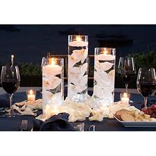 3 Glass Cylinder Vase Party Centerpiece