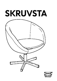 Skruvsta Swivel Chair Idhult White by Skruvsta Swivel Chair Almås Red Ikea United States Ikeapedia