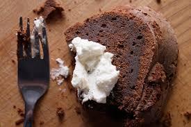 Chocolate Whiskey Cake with Fluthered Cream Recipe Chowhound