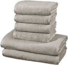 amazonbasics handtuch set schnelltrocknend 2 badetücher