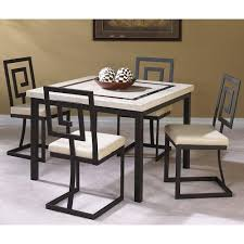 Value City Kitchen Table Sets by Cramco Inc Maze 5 Piece Square Table And Side Chair Set Value