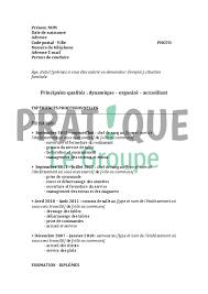 emploi chef de rang modèle de cv pour un emploi de chef de rang confirmé pratique fr