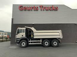 100 6x6 Trucks For Sale MAN TGS 33 480 6X6 HEAVY MULDE TIPPER Dump Trucks For Sale Tipper