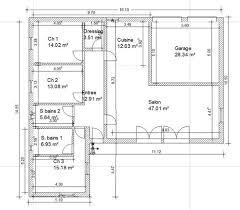 plan maison plain pied gratuit 3 chambres superb maison de 100m2 plan 7 plan maison plain pied gratuit 3