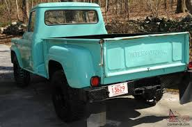 100 1957 International Truck Harvester 4XA120 Step Side Pick Up 1 Ton 4