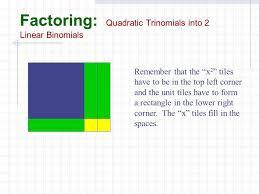 factoring polynomials ppt