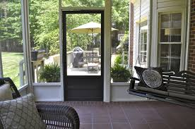 Diy Screened In Porch Decorating Ideas by Screened In Porch Decor Angled Roof Screened Porch On Stone Base