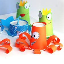 25 Disposable Cup Crafts For Kids