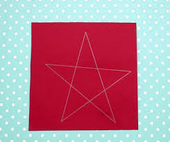 4th Of July Paper Easy Crafts For Kids Draw A Star
