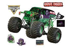 100 Monster Truck Grave Digger Videos Clipart